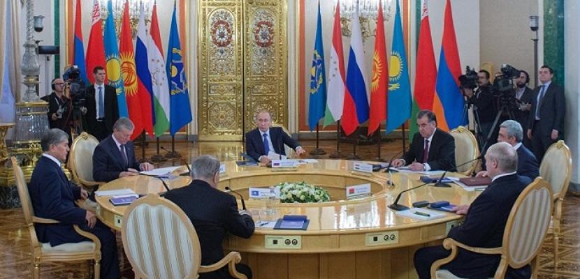 قمة منظمة معاهدة الأمن الجماعي تؤيد جهود روسيا للتوصل إلى تسوية في سوريا