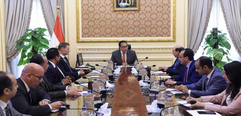 """رئيس الوزراء: الحكومة المصرية مستعدة لتقديم كافة الحوافز لشركة """"ميرسك"""" العالمية"""