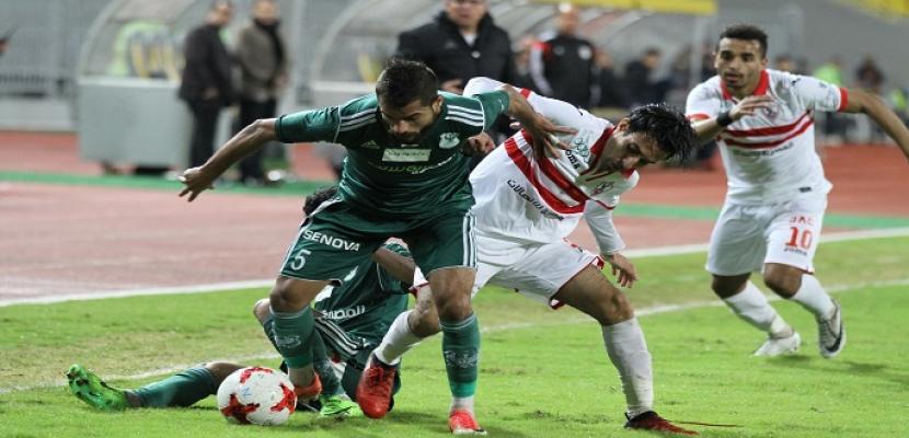 الزمالك يواجه المصري في مباراة مؤجلة بالدوري الممتاز
