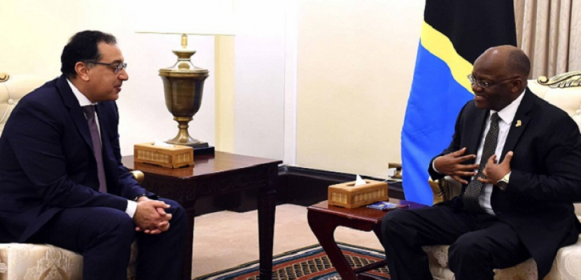 الرئيس التنزاني مخاطبًا الوفد المصري: نحبكم كثيرًا ورفضنا التأثير في حصة مصر من مياه النيل