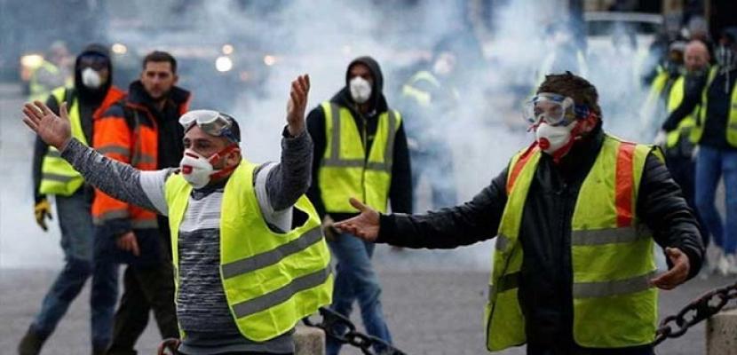"""الإليزيه يخشى """"أعمال عنف واسعة"""" خلال تظاهرات مقررة السبت"""