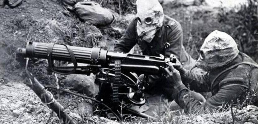 أسلحة استخدمت في الحرب العالمية الأولى