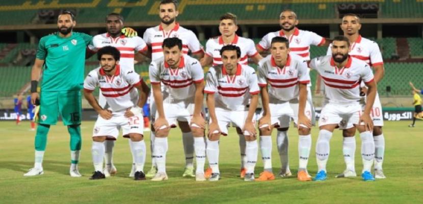 الزمالك يفوزعلى المصري بهدفين نظيفين في الدوري الممتاز