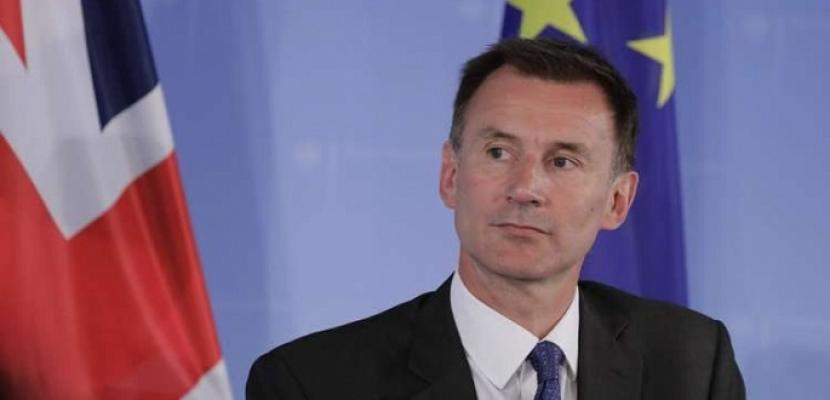وزير الخارجية البريطاني: واشنطن ولندن يتشاركان في تقييم التهديدات الإيرانية