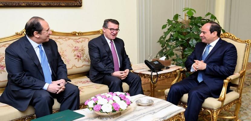الرئيس السيسي يلتقي مدير المخابرات اليوناني لبحث التعاون الثنائي