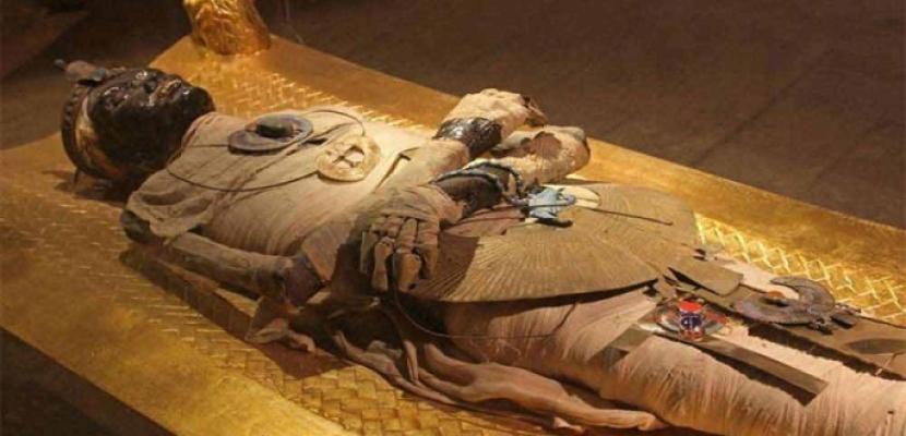 """""""الآثار"""" تفتتح المعرض الأثري """"إعادة اكتشاف الموتى"""""""
