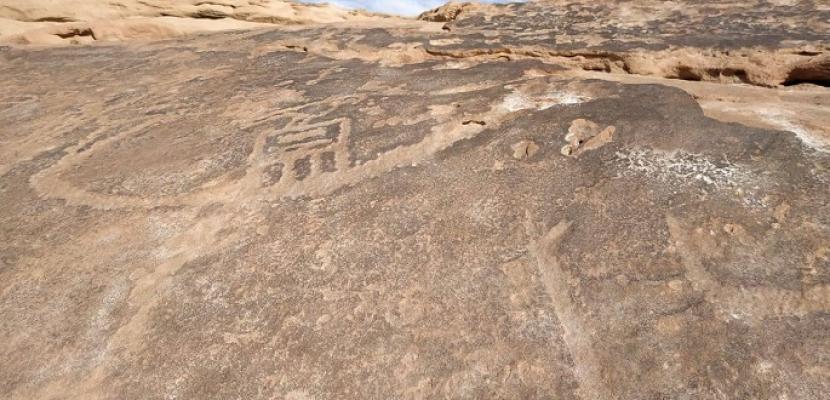 بالصور.. الآثار تعلن بدء المرحلة الثانية من مشروع توثيق النقوش الصخرية بجنوب سيناء