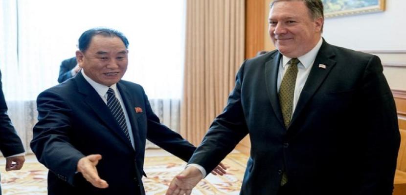 وزير الخارجية الأمريكي يجتمع مع نظيره من كوريا الشمالية