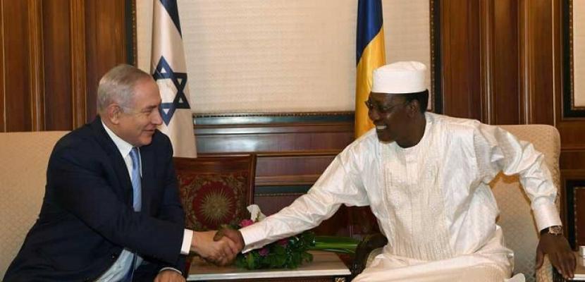 نتنياهو يعلن عودة العلاقات الدبلوماسية بين إسرائيل وتشاد