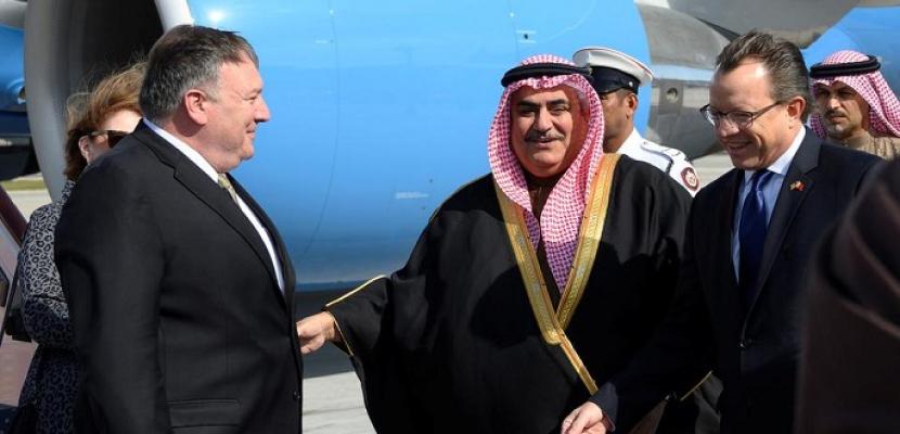 وزير الخارجية الأمريكي يصل البحرين في أول محطة خليجية