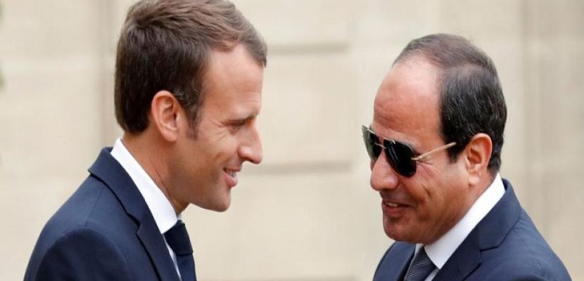 العلاقات المصرية الفرنسية .. 6 زيارات رئاسية متبادلة في عهد السيسي