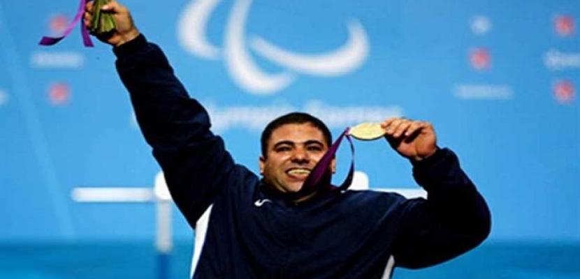 هاني عبد الهادي يتوج بذهبية كأس العالم لرفع الأثقال البارالمبية