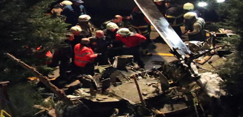مصرع 4 عسكريين أتراك إثر تحطم مروحيتهم في اسطنبول