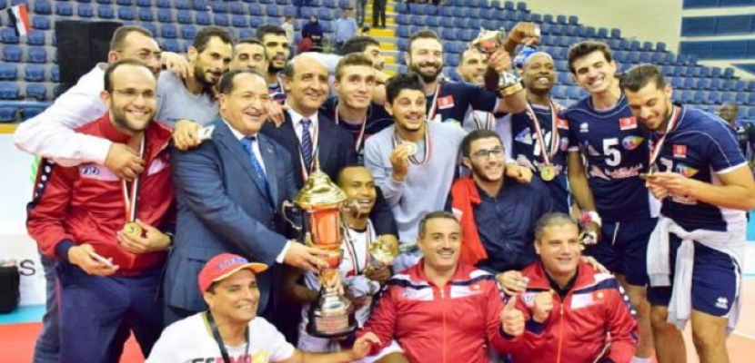 """تونس تفوز باستضافة بطولة """"أمم أفريقيا"""" للكرة الطائرة للرجال 2019"""