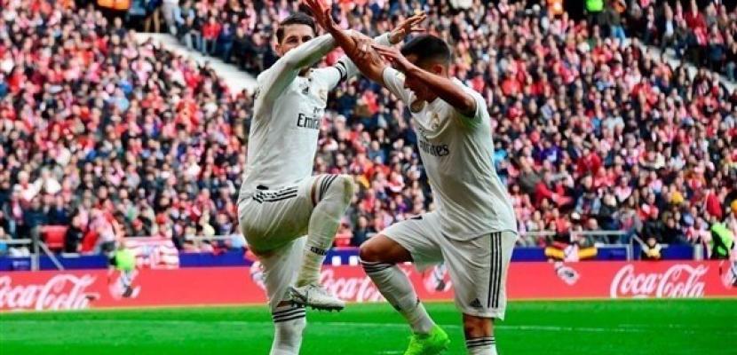 ريال مدريد يفوز على أتلتيكو 3-1 في ديربي العاصمة الإسبانية بالليجا