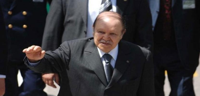 الرئيس الجزائري عبد العزيز بوتفليقة يعلن رسميا ترشحه لولاية خامسة