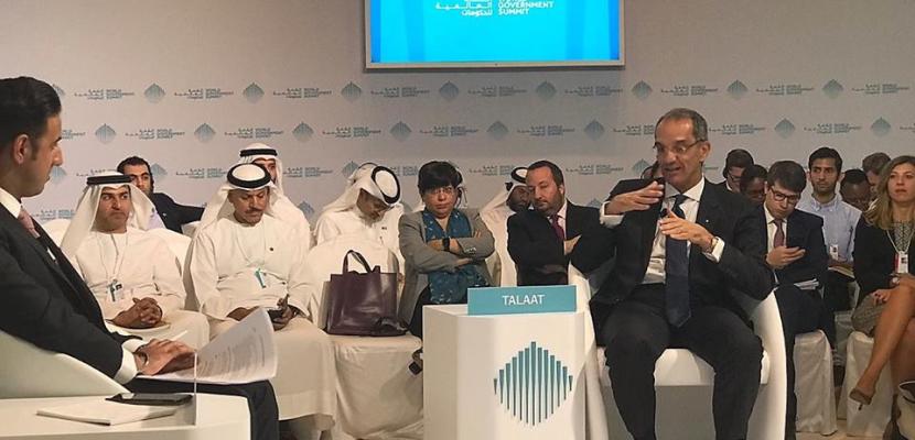 طلعت يعرض في دبي تجربة الشراكة بين القطاعين الحكومى والخاص