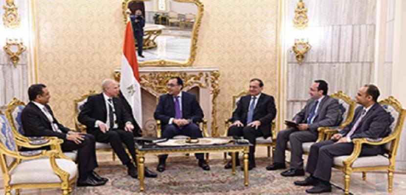 رئيس الوزراء: نتطلع لزيادة استثمارات شركة BP العالمية للبترول خلال الفترة القادمة