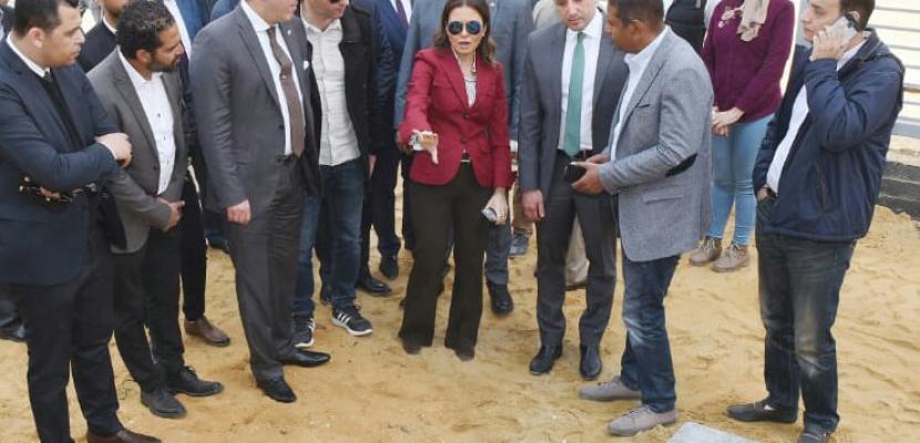 سحر نصر: أعمال التطوير بالمنطقة الحرة بمدينة نصر تتم وفقا لأعلى النظم العالمية