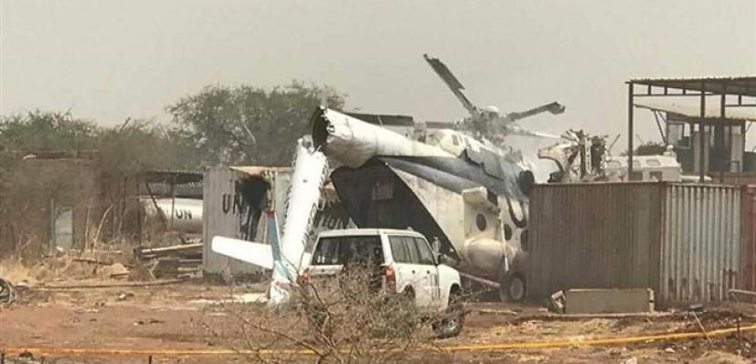 مقتل وإصابة 6 أشخاص إثر سقوط طائرة عسكرية إثيوبية في جنوب السودان