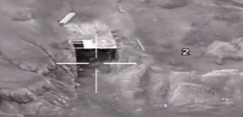 بالفيديو ..القوات المسلحة تستهدف 7 بؤر إرهابية و تقضى على 8 إرهابيين بشمال سيناء