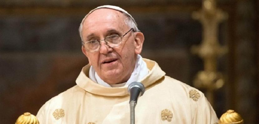 """البابا يدعو لتحرك حاسم ضد """"بلاء"""" تهريب البشر والاستعباد"""