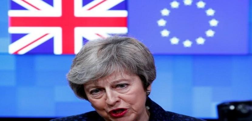 المتحدث باسم ماي: بريطانيا ستضاعف جهودها لتأمين إتفاق للخروج من الاتحاد الأوروبي