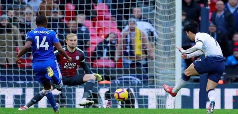 توتنهام يفوز على ليستر سيتي 3ـ1 في الدوري الإنجليزي