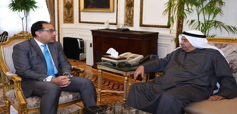 رئيس الوزراء يستقبل سفير الكويت في القاهرة