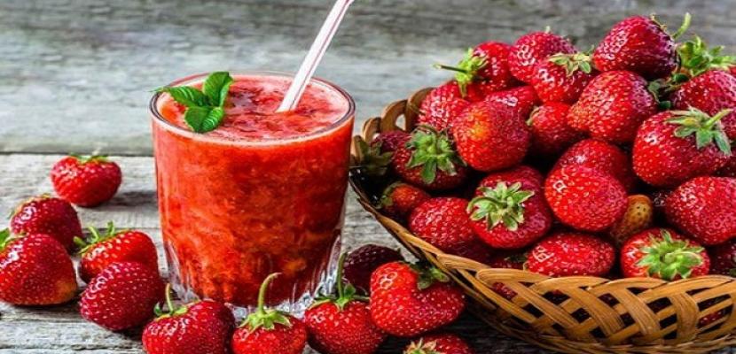فوائد الفراولة على صحة الجسم والبشرة