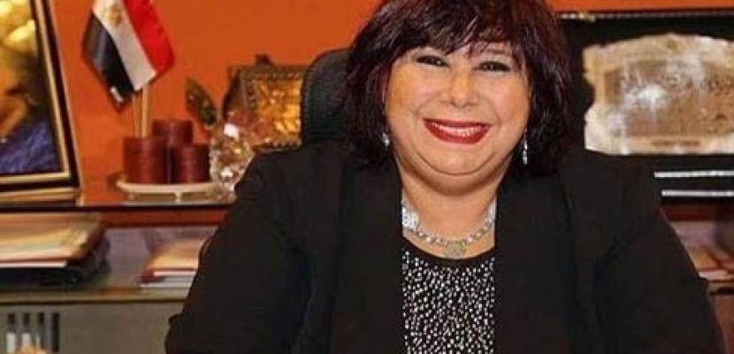 وزيرة الثقافة تفتتح الدورة 36 من مهرجان المسرح العربى