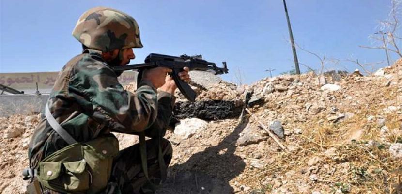الجيش السوري يقضي على إرهابيين في ريف حماة ويحبط محاولة تسلل بريف إدلب