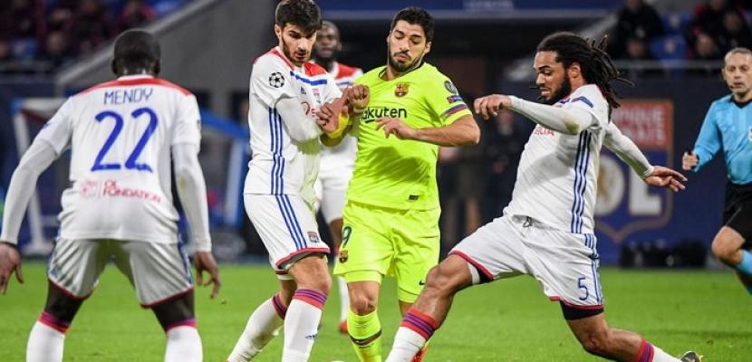 """برشلونة يخشى """"مفاجأة"""" ليون في دوري أبطال أوروبا"""