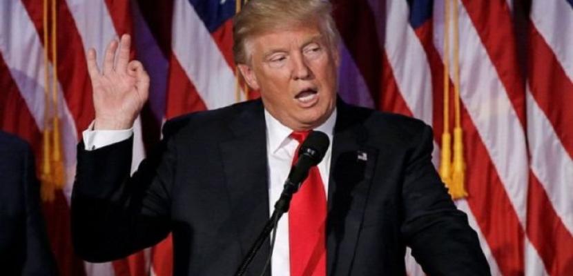 ترامب يتعهد بعدم حصول طهران على سلاح نووى ويعتبر الحرب مع ايران نهاية رسمية لها