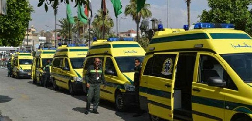 الدفع ب 40 سيارة إسعاف مجهزة لتأمين ملتقى الشباب العربى – الافريقى بأسوان
