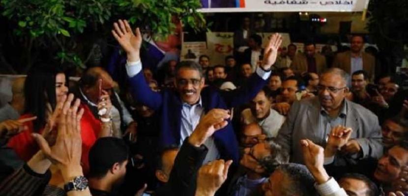 فوز ضياء رشوان بمنصب نقيب الصحفيين