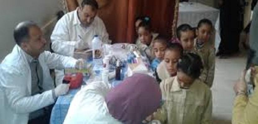 الصحة: فحص 5 ملايين طالب منذ انطلاق مبادرة الكشف عن الأنيميا والسمنة والتقزم