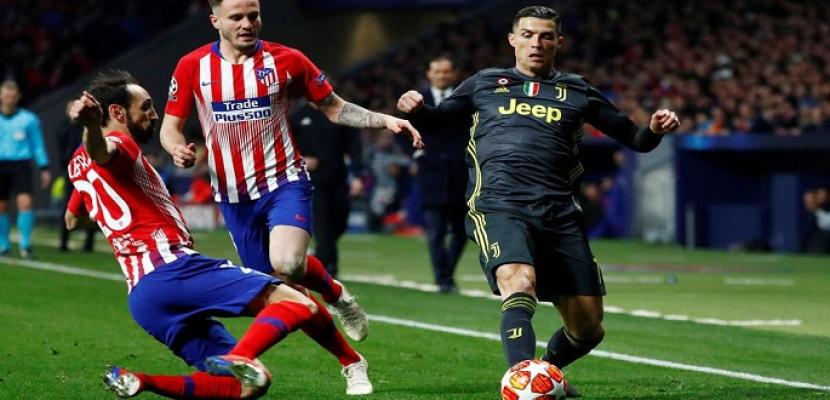 يوفنتوس يبحث الليلة عن ريمونتادا أمام أتلتيكو مدريد بالشامبيونز ليج