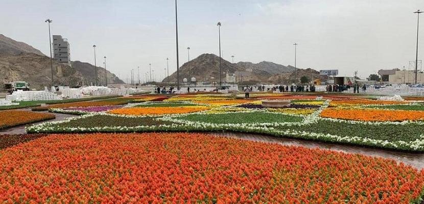 مليون زهرة في مكة المكرمة