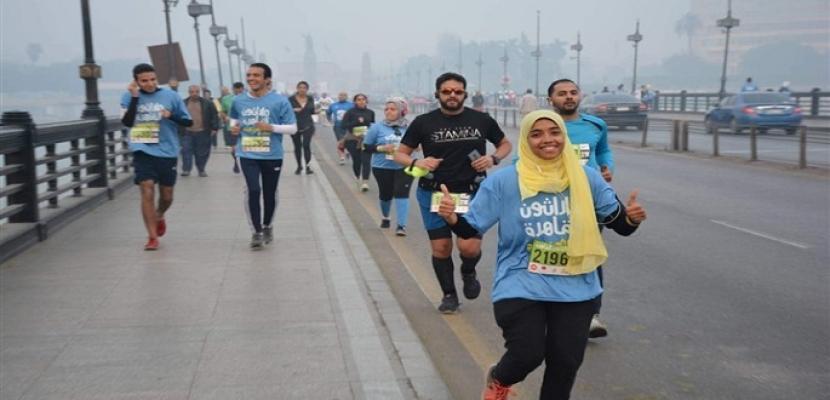 """بالصور.. انطلاق النسخة الأولى من ماراثون القاهرة تحت رعاية """"الشباب و الرياضة"""""""