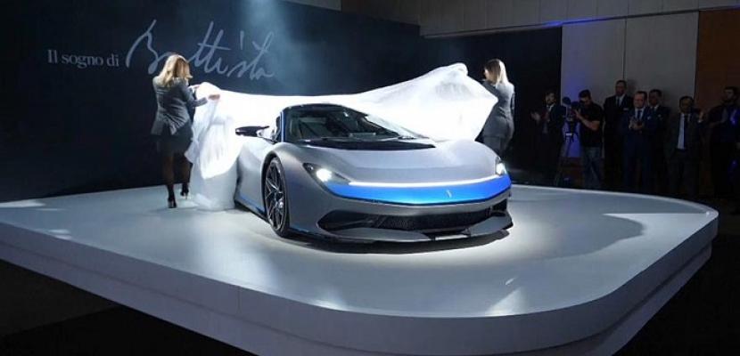 الكشف عن أسرع سيارة خارقة صديقة للبيئة في العالم في معرض جنيف