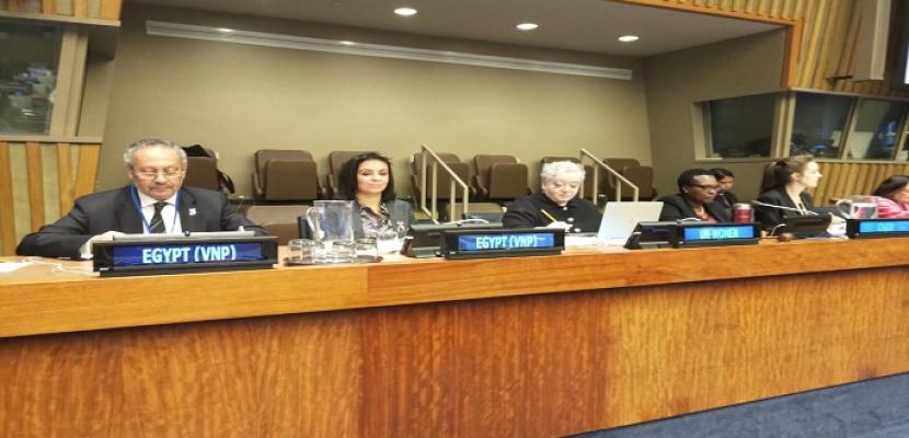 الأمم المتحدة تقدم التحية لمصر لريادة رئيس الجمهورية في تخصيص عام للمراة