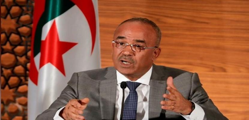 رئيس الوزراء الجديد يحث الجزائريين على قبول الحوار