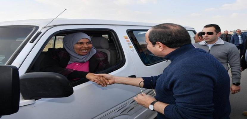 المرأة المصرية تحقق أعلى المكاسب في عهد الرئيس السيسي