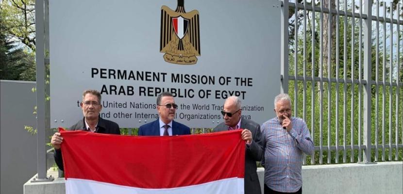 تزايد إقبال المصريين في جنيف للمشاركة فى التصويت على التعديلات