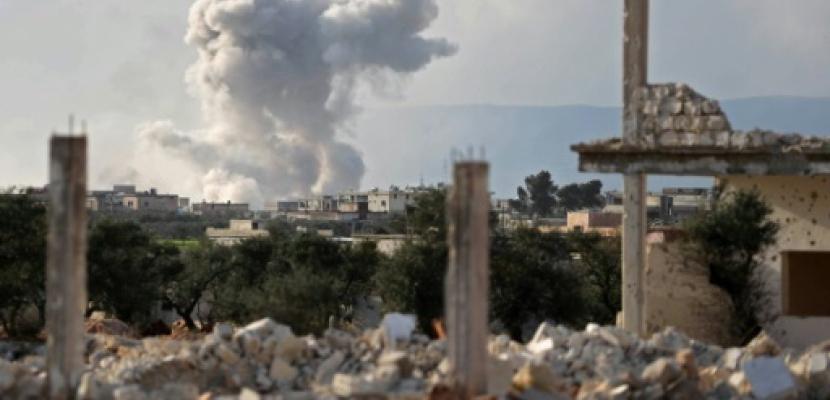 مقتل سبعة مدنيين في قصف في محافظة إدلب السورية