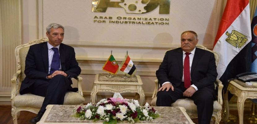 الهيئة العربية للتصنيع تستقبل وزير الدفاع البرتغالي لبحث الشراكة في مجال الصناعات الدفاعية والمدنية
