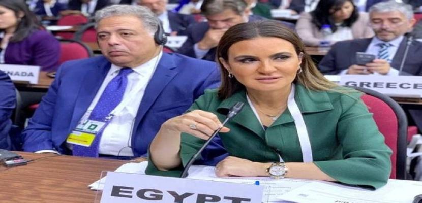 سحر نصر : 1816 شركة بريطانية تستثمر 46 مليار دولار فى مصر