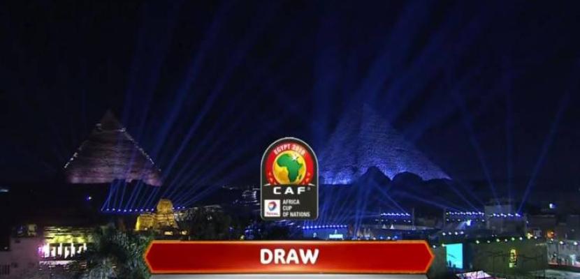 مجموعات متوازنة في بطولة كأس الأمم الإفريقية لكرة القدم 2019