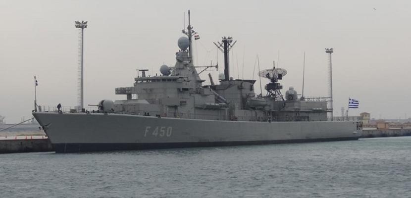 """إنطلاق التدريب البحرى الجوى المشترك """" ميدوزا – 8 """" بمشاركة مصر واليونان وقبرص"""